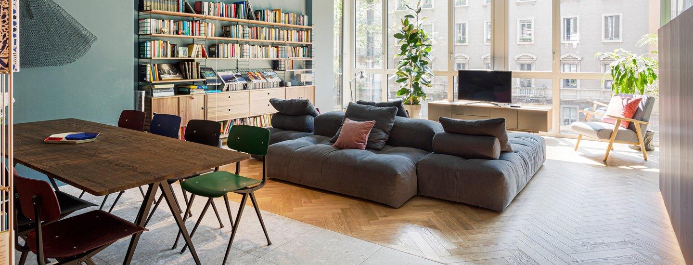 milanese apartment home tour