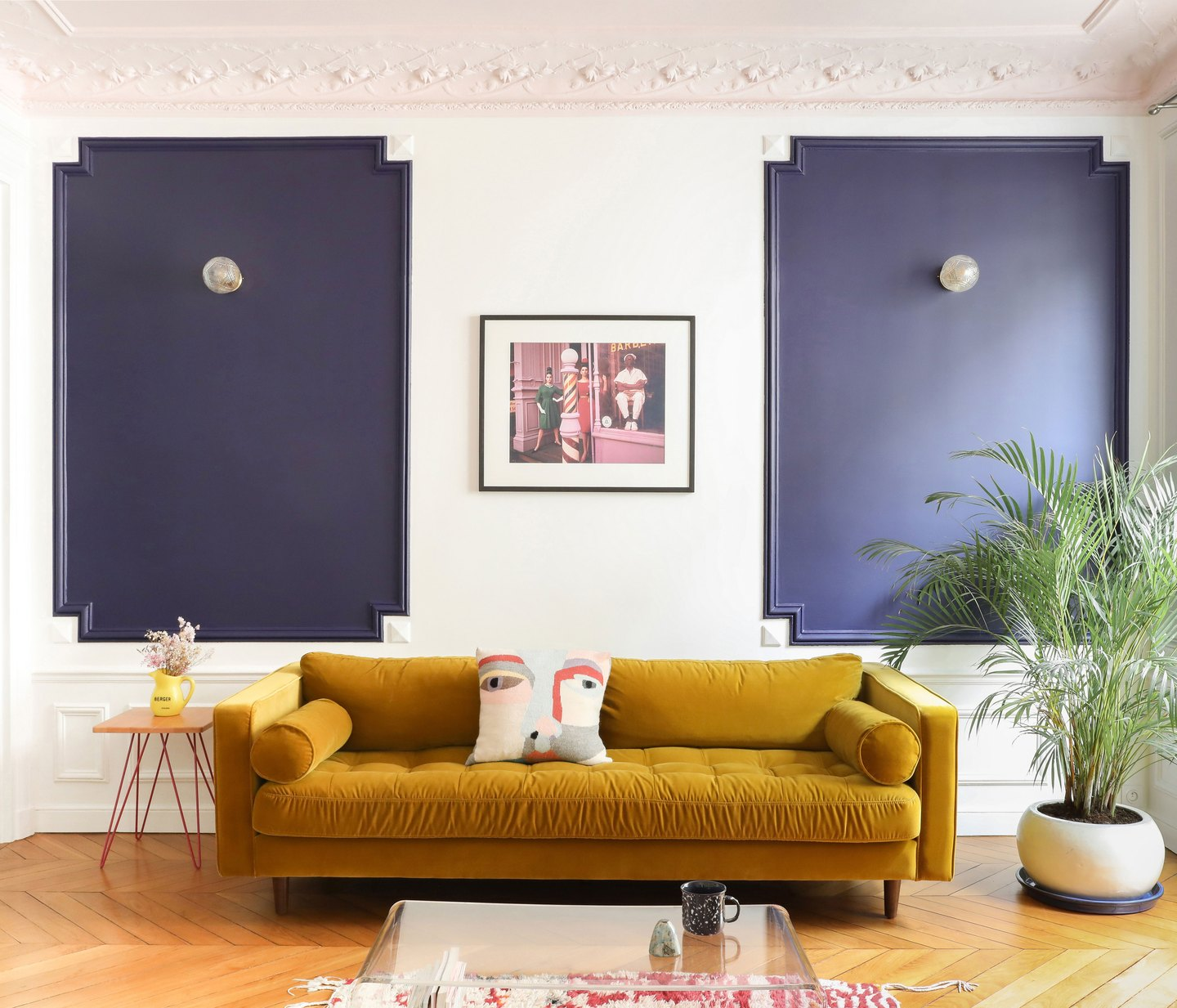 A Sleek Paris Apartment Inspired by the Memphis Group