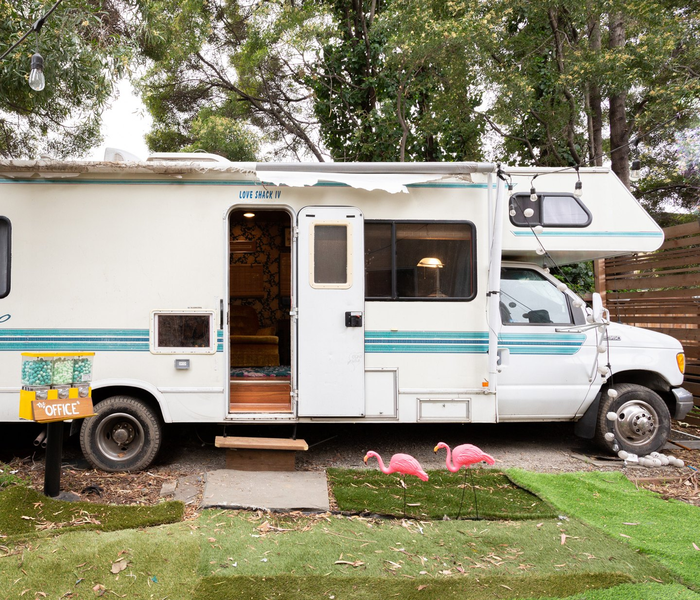 Check Out This RV That's a Backyard Home Office