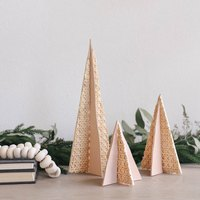 Create Cane and Leather Trees to Complement Your Holiday Decor