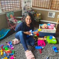 NASA's Mamta Patel Nagaraja Treasures Her Family Playroom