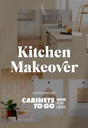 Kitchen makeover with Cabinets to Go