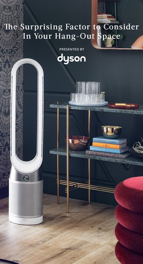 Air Purifier in Living Room