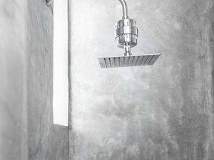 wall mounted rain showerhead