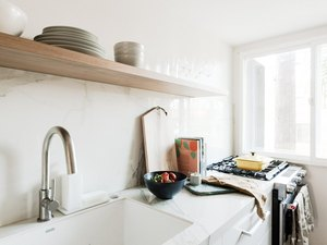 Hunker House kitchen with Year & Day tableware