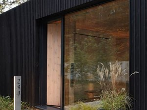 modern house numbers with beveled edge by Design Within Reach