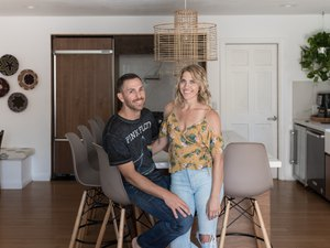 Denise and Andrew Palma, Owners of Eclectic Goods