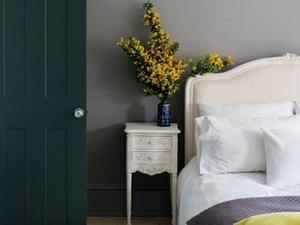 tone on tone bedroom