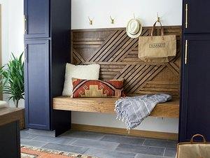 brepurposed mudroom