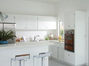 Kitchen with Original Oven
