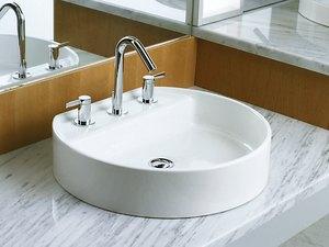 Ceramic Bathroom Sink Chord® Wading Pool® from Kohler