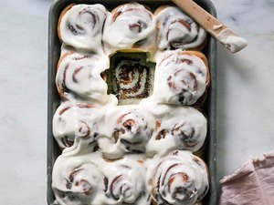 A Cozy Kitchen Overnight Cinnamon Rolls