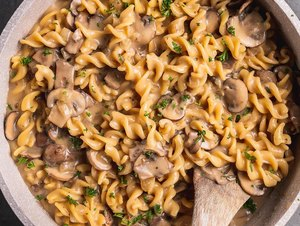 Sweet Simple Vegan One-Pot Mushroom Stroganoff​