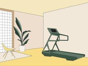 treadmill illustration