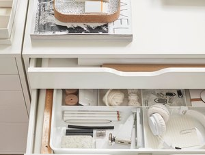 ikea storage drawer option