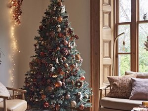 fall christmas tree