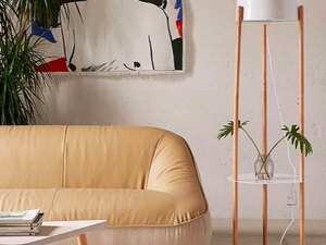 floor lamp one shelf