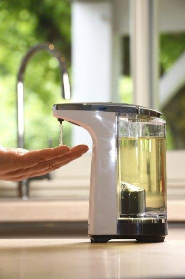 Hand wash-Automatic soap dispenser