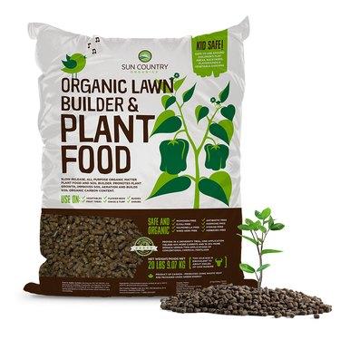 Commercial organic fertilizer.
