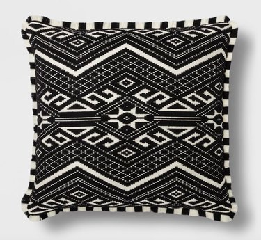Opalhouse Fringed Jacquard Throw Pillow, $29.99