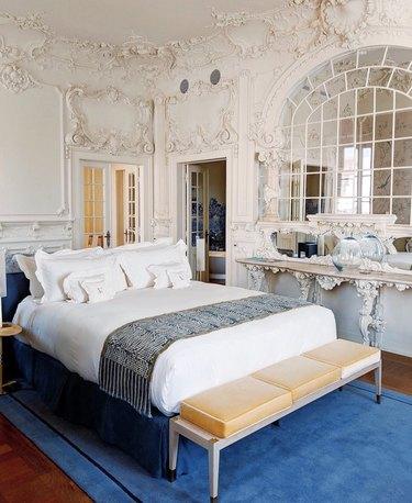 ornate Victorian bedroom