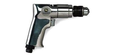 Air-powered drill.
