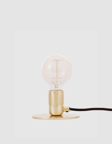 Frama E27 Table Lamp in Brass, $89