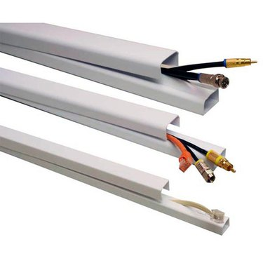 Raceways offer an effective way to mask  electronics cables.