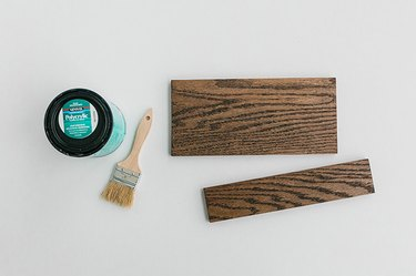 Seal the wood boards.