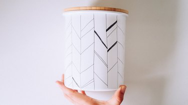 Thicker lines on arrow pattern
