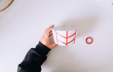 Arrow pattern with washi tape