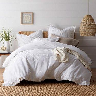 company store white bedding