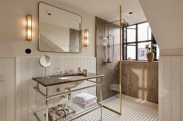 bathroom at hotel sanders in copenhagen