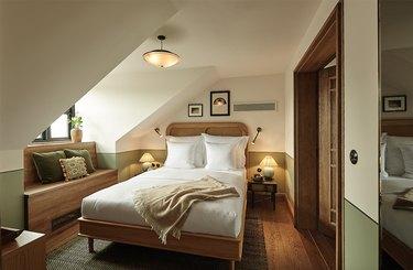 guest room at hotel sanders in copenhagen
