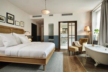 suite at hotel sanders in copenhagen