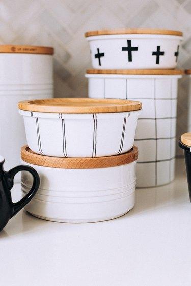 Scandinavian-inspired jars
