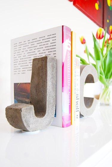 Multipurpose Concrete Letters