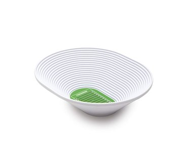 white and green football stadium bowl