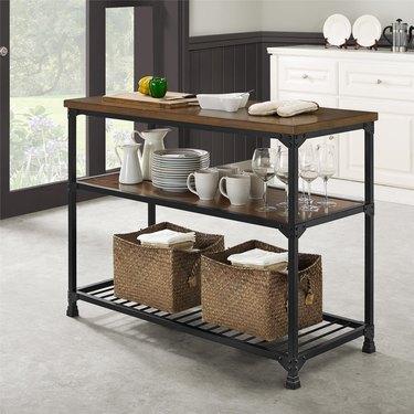 prep table kitchen island ideas