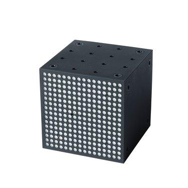 black square LED light