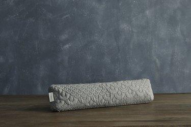 long gray Pranayama Pillow