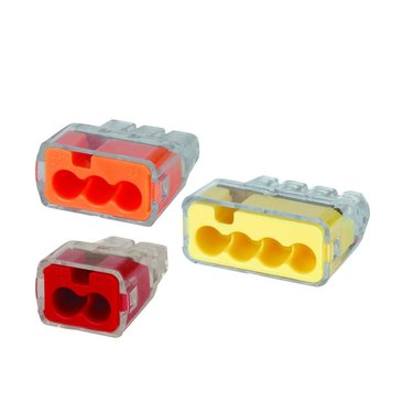 Push-in wire connectors