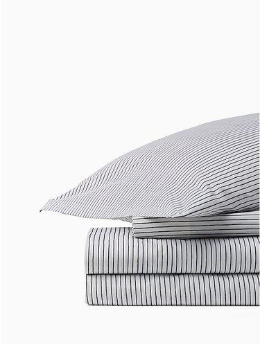 Skinny Stripe Sheet Set, $110