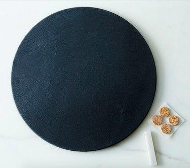 brooklyn slate round cheese board