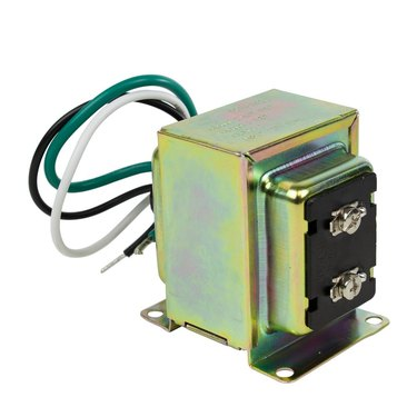 Low-voltage doorbell transformer