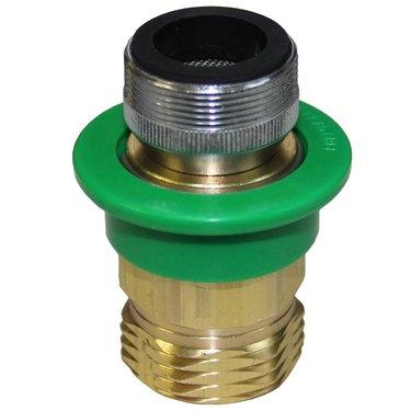 Faucet hose adapter.