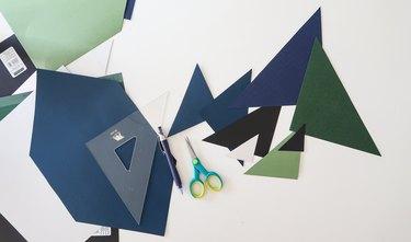 Cut triangles