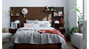 Crate and Barrel Batten Bed