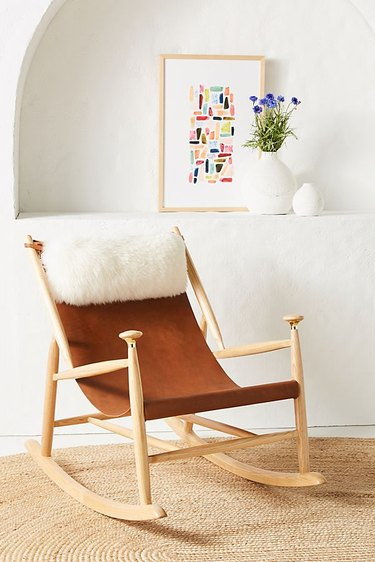 Anthropologie Sydney Rocking Chair, $899.95