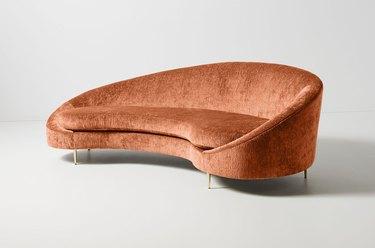 cider velvet couch